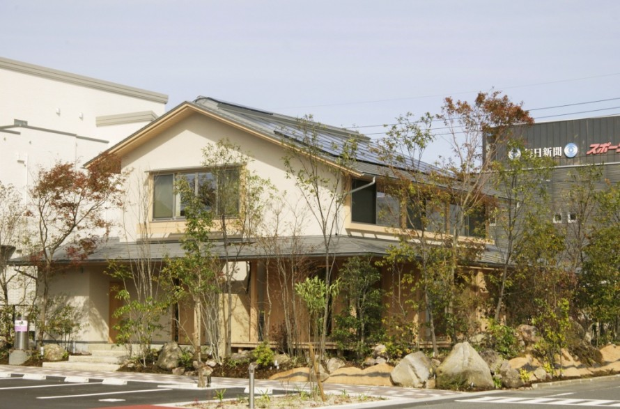 和風2階建て香りの家外観